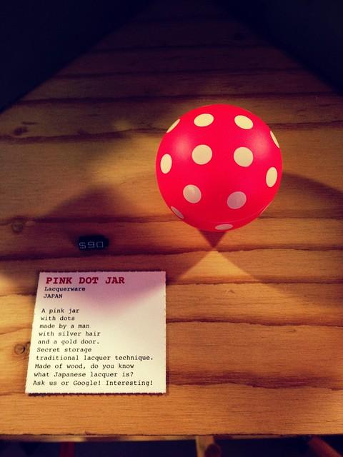 294/366: pink dot jar