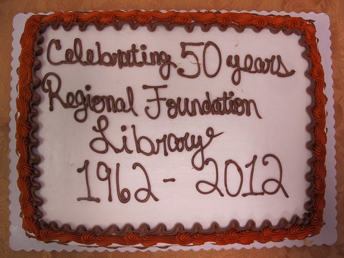 RFL's 50th Birthday Cake