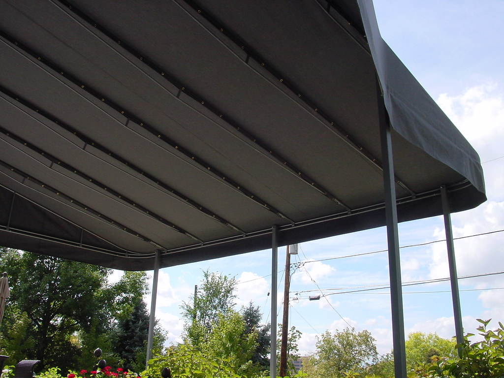 custom canvas patio covers images