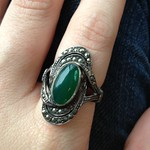 marcasite ring from yard sale in Fresh Meadows