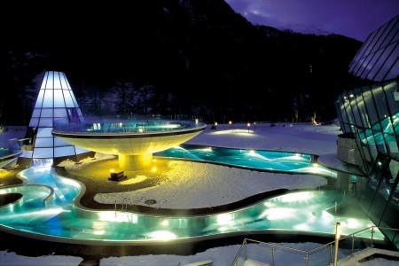Tyrolské termální lázně Aqua Dome inovují