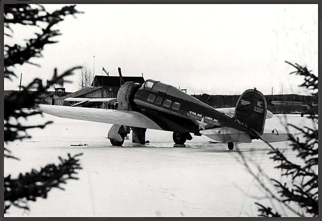 Lockheed Orion 9D NC230Y cn 201 Alaska Star Airlines, c 1940