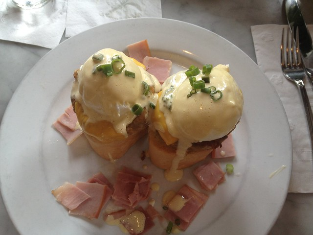 Breaux Bridge Benedict at Stanley's, New Orleans