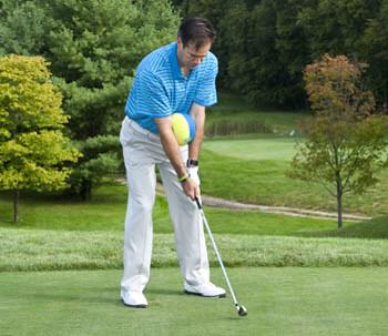 Golf floG Blog: Straight Arms Across Chest at Setup