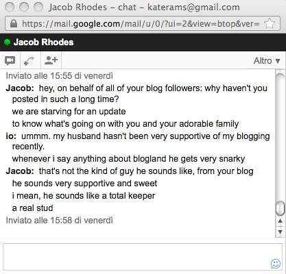 chat with jacob