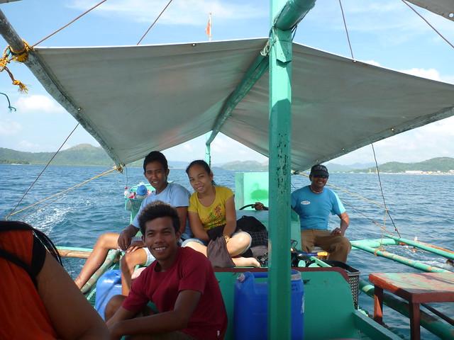 我們親切可愛又賣力工作的船長與船員們