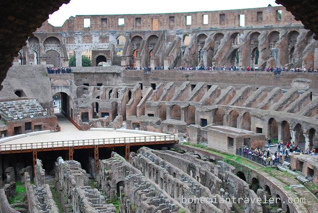 the Roman Colosseum Colosseo