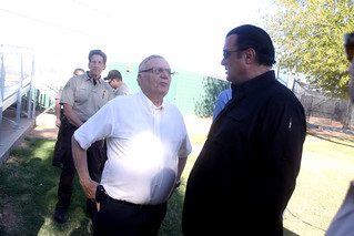 Joe Arpaio & Steven Seagal