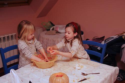 Halloween Pumpkin Carving 2012