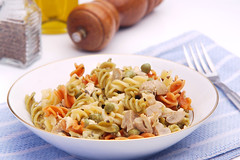 pasta salad, vegetable, fusilli, pasta, food, dish, cuisine,