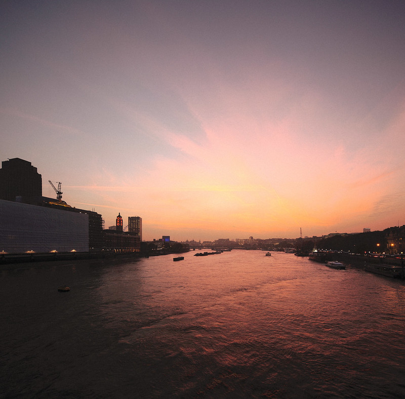 Thames Sunset.
