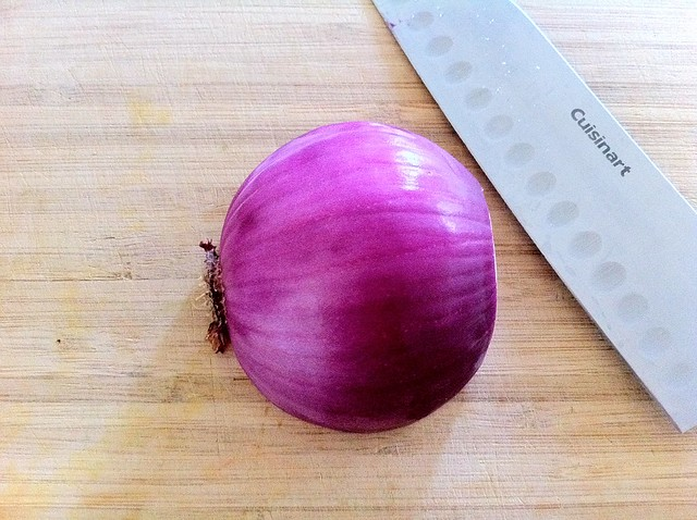 1/2 Red Onion, Peeled