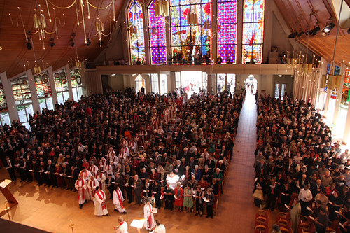 Holy Trinity Cathedral was packed for both the opening and closing services
