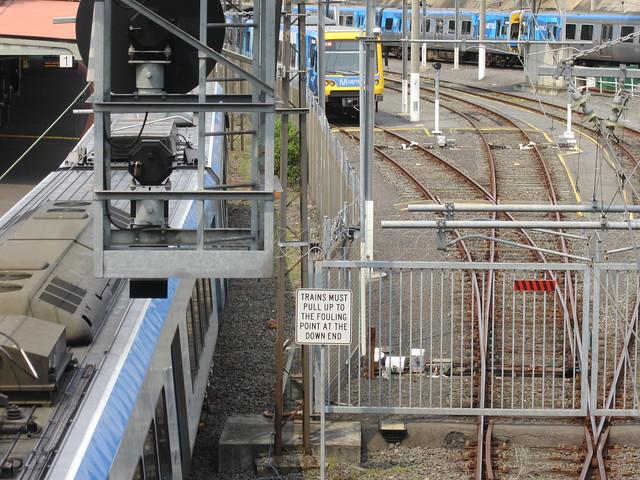 Stabling yard, Camberwell station