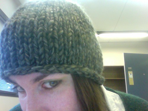 hurricane hat by gradschoolknitter