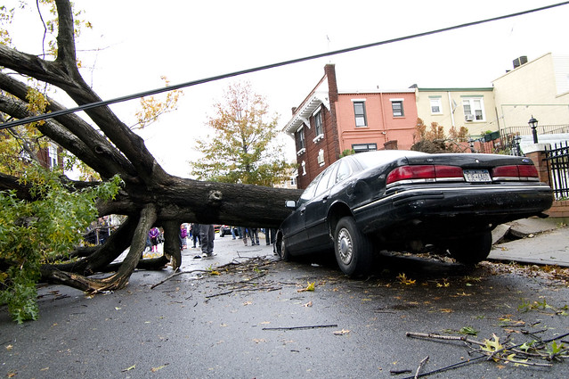 Hurricane Sandy - Astoria  NY (10/30/2012)