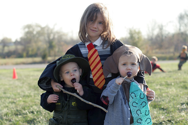 Hermione, Dobby, and a Park Ranger