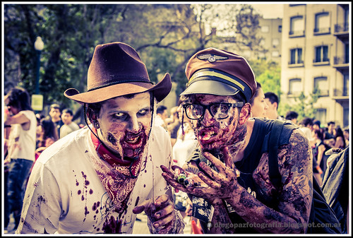 Zombiewalk 2012 by diegol72
