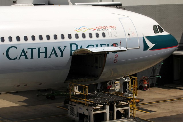Cathay Pacific Airbus A330-300 Nose