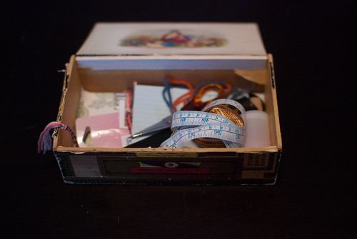 My cigar box craft box