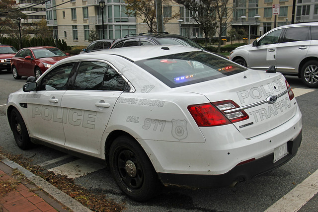 Picture Of Brand New City Of White Plains New York Police Department 2013 Ford Police