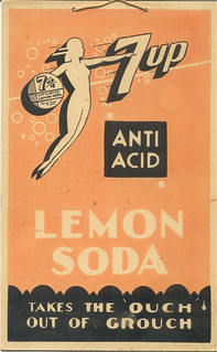 "7 Up ""Anti Acid Lemon Soda,"" circa 1935"