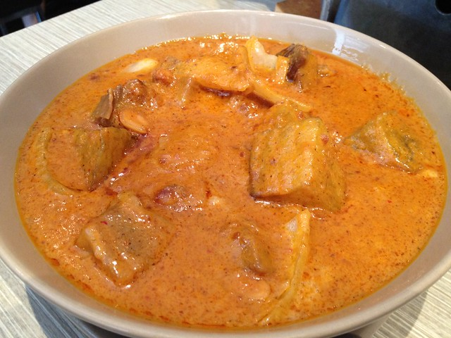 Beef Brisket in Massaman Curry