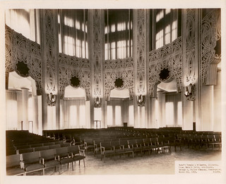 1953-Auditorium of the Baha'i House of Worship