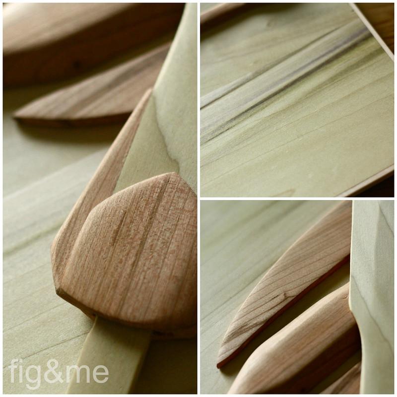 Green wood at work