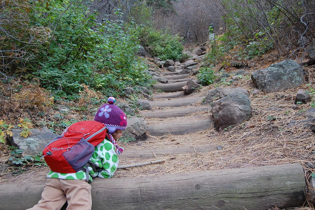 Giant Stairs - Hiking at Gregory Canyon Amphitheatre, Boulder, CO