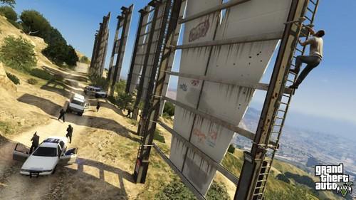 New Image of Grand Theft Auto 5