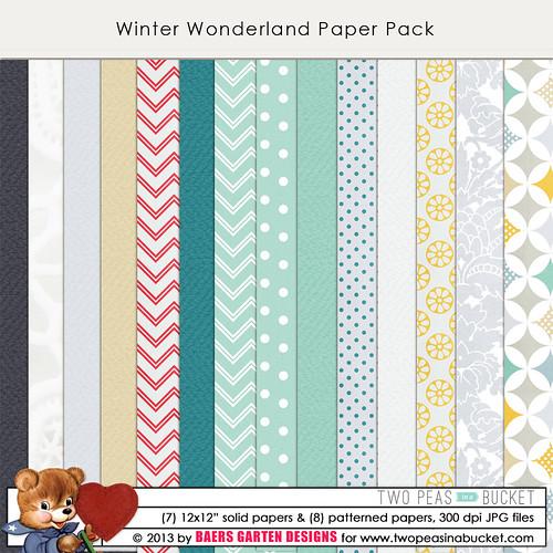 Winter Wonderland Papers