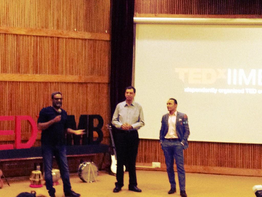 TEDx IIM Bangalore - R Balki has a funny bone for sure  #l