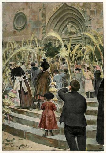 020-Domingo de Ramos-Mas y Fontdevila- Album Salon 03-1898- Hemeroteca digital de la Biblioteca Nacional de España