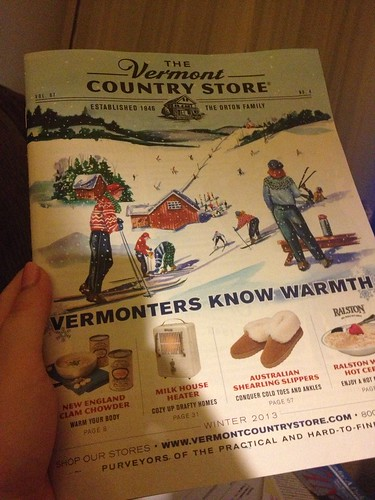 Vermont Country Store Catalog #happy365 H365/12 by Jenelle Blevins