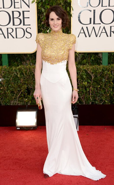 Michelle Dockery in Alexandre Vauthier