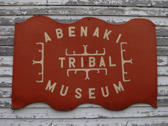 Header of Abenaki Tribal Museum