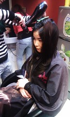 Thực hành sấy tóc lá bám cúp Hair salon Korigami 0915804875 (www.korigami (5)