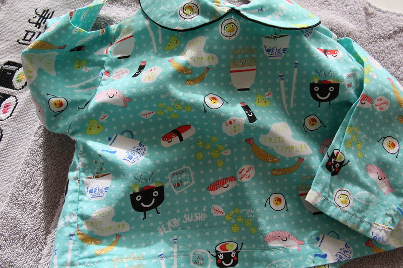 camisa sushi