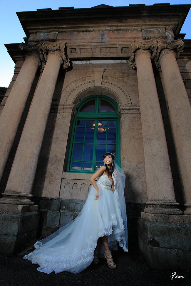 林莉帏(大馬名模)婚紗歐風水博館