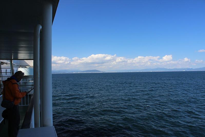 フェリー 徳島近く