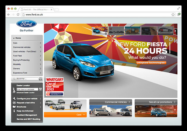 Ford Fiesta 2013 : Online Campaign.