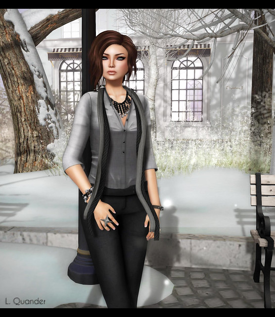 Eclectic Apparel - Xanna Pants for FaMESHed and DIRFT City Shirt (CLOSE)
