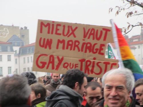 Mariage pour tous Lyon 14