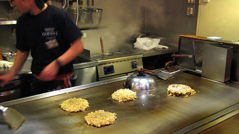 Okonomiyaki cook