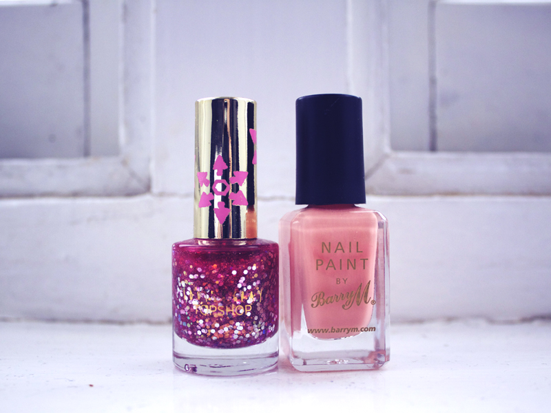 Louise Grey for Topshop Pinch Punch Nail Varnish and Barry M nail polish