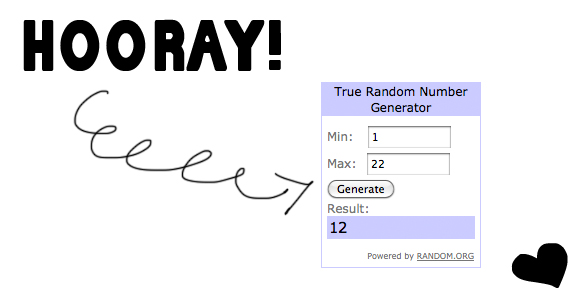 itunes giveaway winner