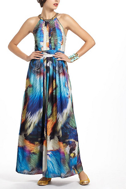 Anthro Tropicalia Maxi Dress