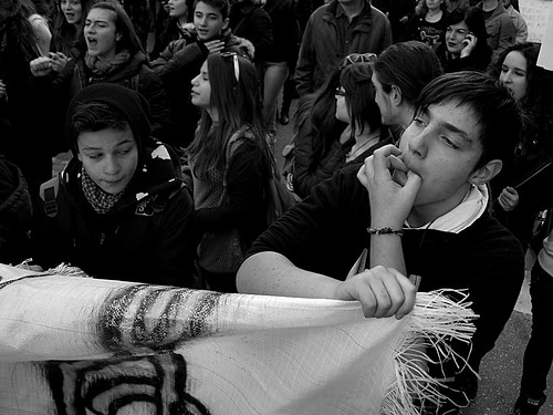 Students at Greece's musical high schools take part in nationwide protests by Teacher Dude's BBQ