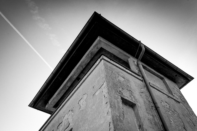 Sachsenhausen watch tower
